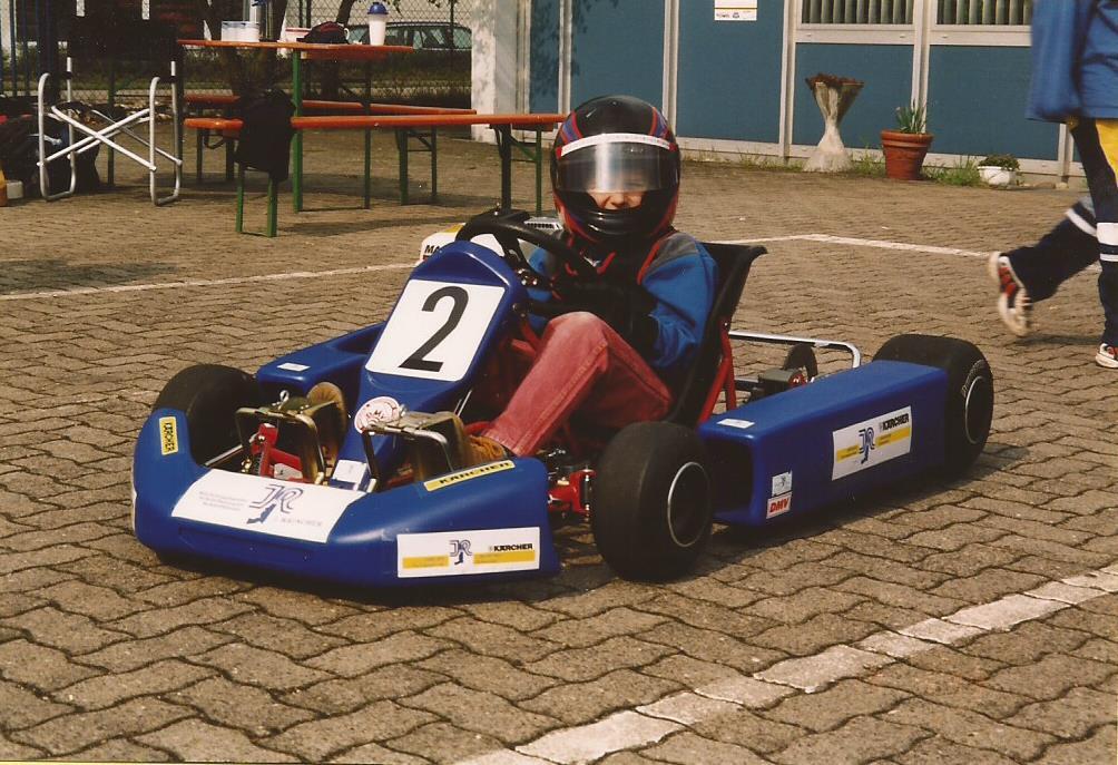 Kartslalom in Miltenberg 1999 - Nils Abb